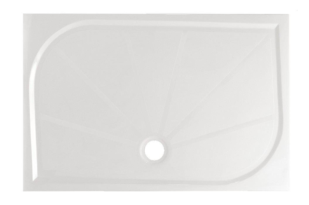 Sprchová vanička obdélníková SIKO LIMNEW 160x90 cm, litý mramor LIMNEW16090 Sprchové vaničky