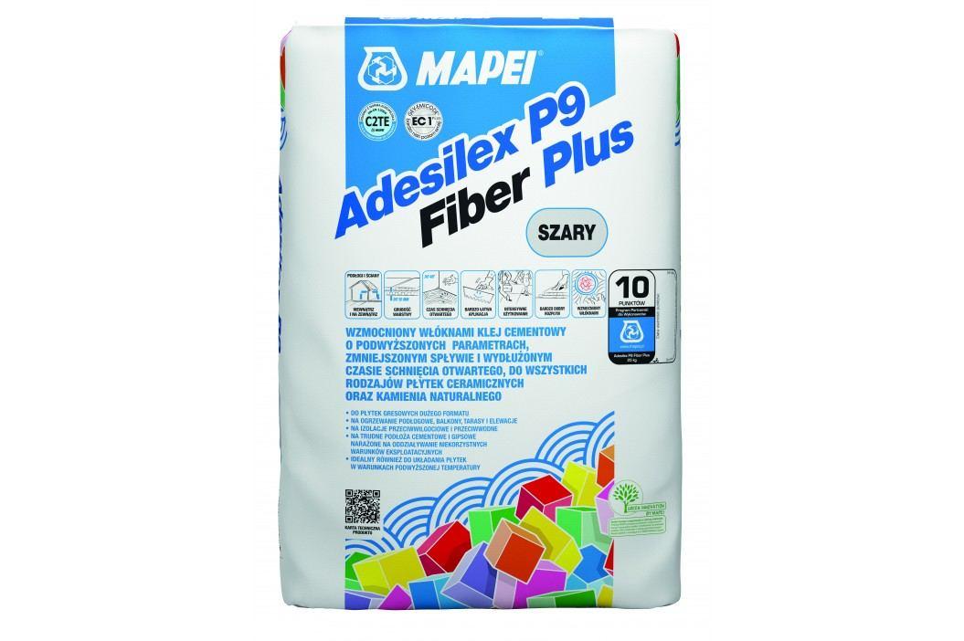 Lepidlo Mapei Adesilex P9 Fiber Plus 25 kg šedá (C2TE) ADESILEXP9FIBER Tmely, silikony a lepidla