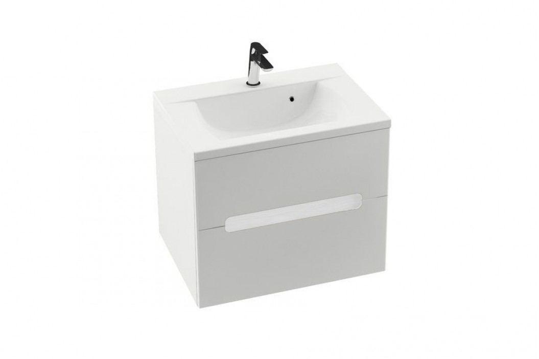 RAVAK SD 600 Classic II skřínka pod umyvadlo cappuccino/bílá X000000905 Koupelnový nábytek