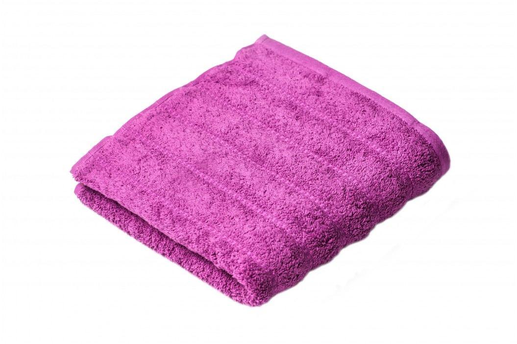 Ručník Lian 100x50 cm, fialová, 500 g/m2 RUC088 Ručníky