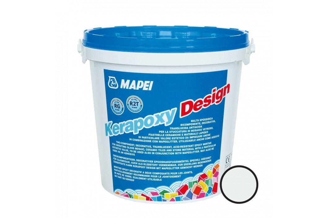 Spárovací hmota Mapei Kerapoxy Design 3 kg ledově bílá (RG) MAPXDESIGN3710 Spárovačky