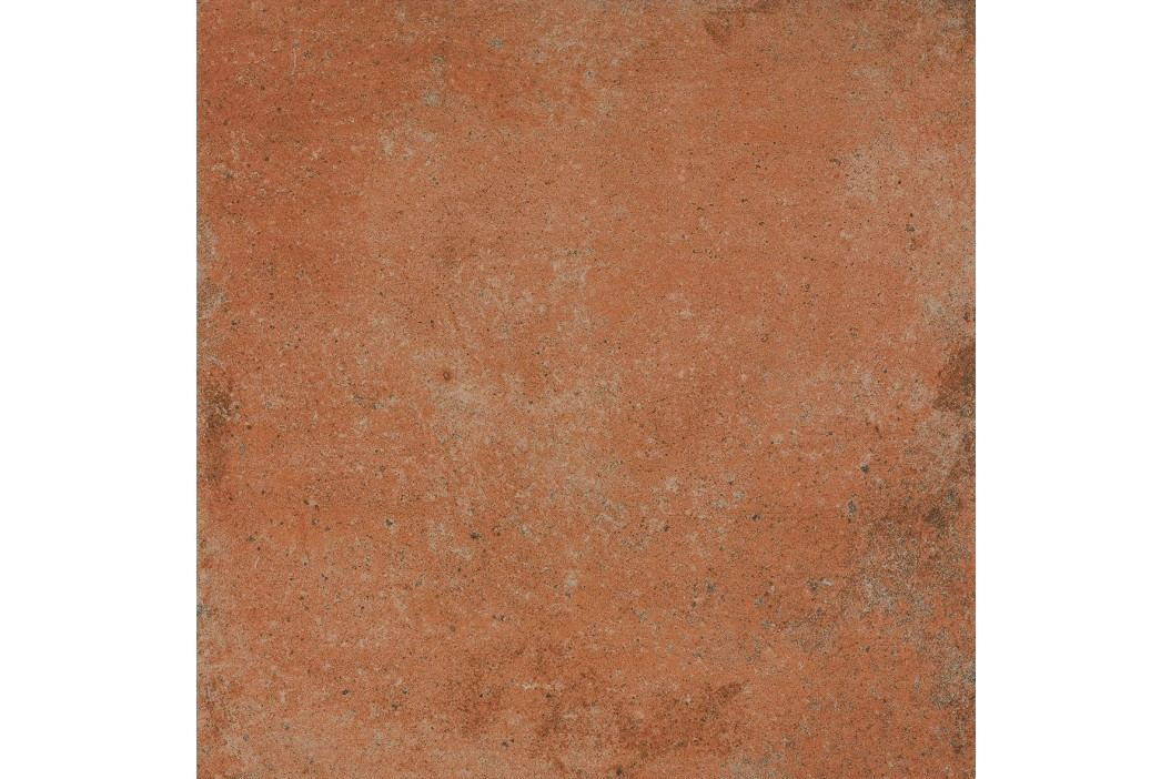 Dlažba Rako Siena cihlová 45x45 cm, mat, rektifikovaná DAR44665.1 Obklady a dlažby
