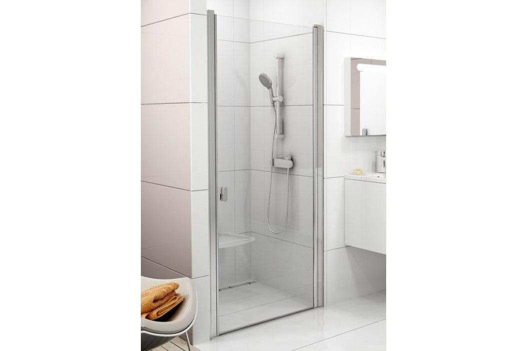 Sprchové dveře RAVAK CSD1-90 satin+Transparent 0QV70U00Z1 Sprchové zástěny