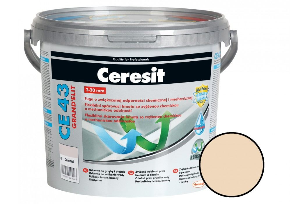Spárovací hmota Ceresit CE43 5 kg caramel (CG2WA) CE43546 Spárovačky