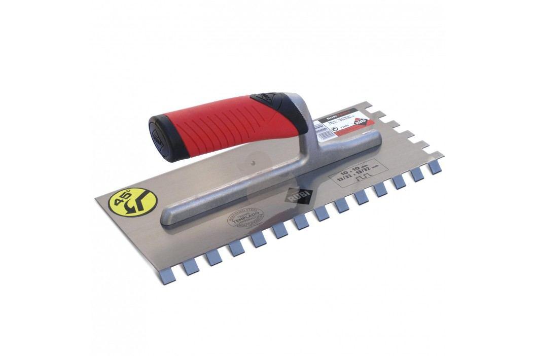 ocelové hladítko zub 10x10mm MRA 45° R75948 Malířské nářadí a doplňky