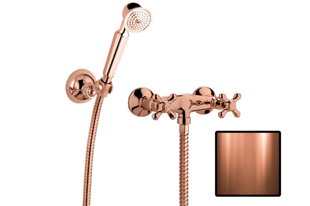Sprchová baterie nástěnná Paffoni Ricordi se sprchovým setem, 150 mm IR168DRM
