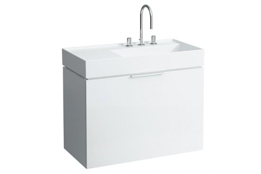 Skříňka pod umyvadlo Laufen KARTELL BY LAUFEN 89,3 cm, bílá lesklá H4076010336311
