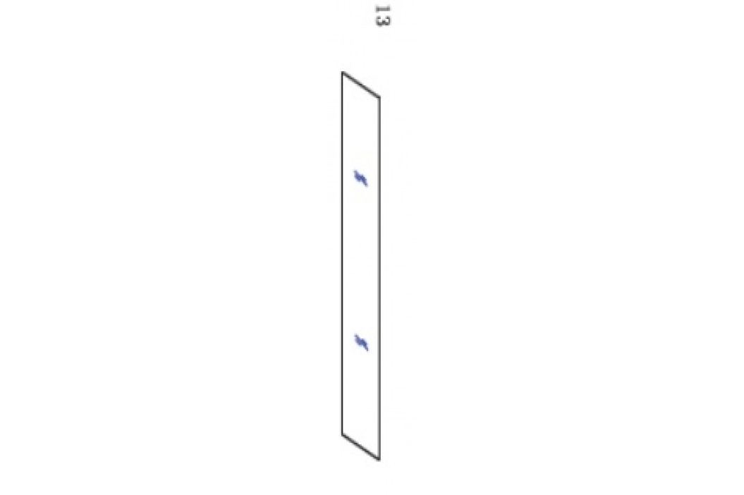 Sklo pevná stěna k MUQ90 transparent NDMKOUT13MUQ90T