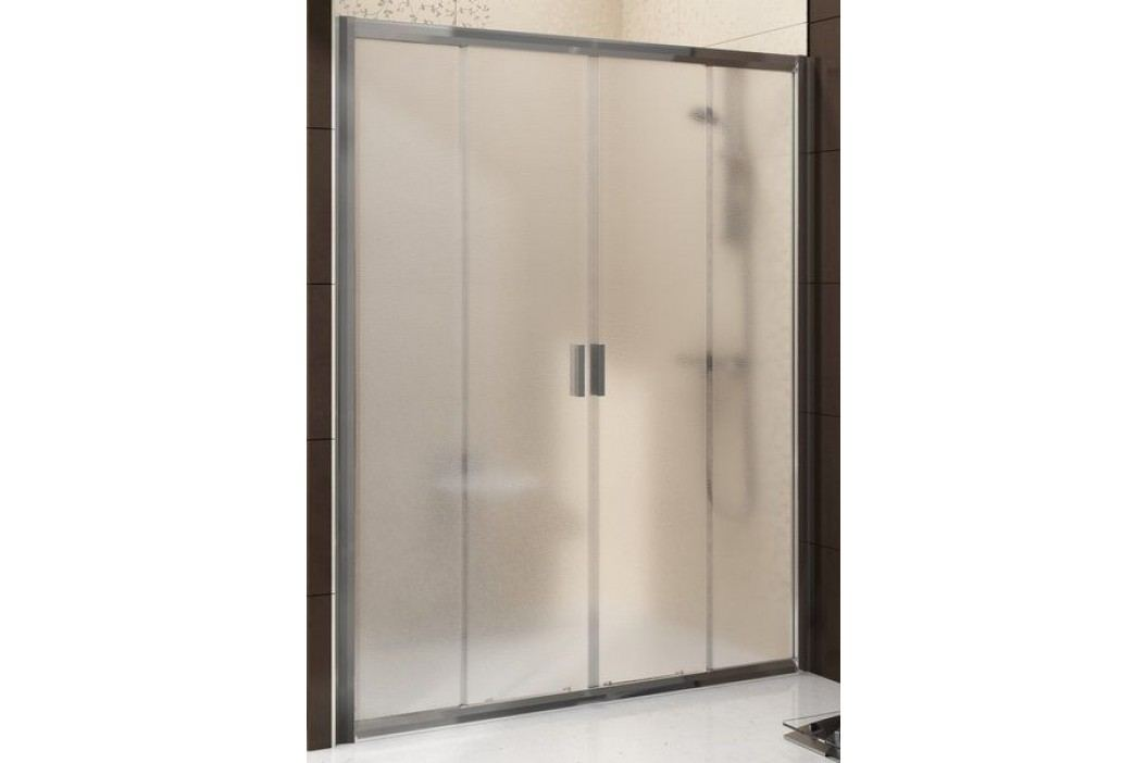 Sprchové dveře RAVAK BLDP4-160 bílá+Grape 0YVS0100ZG