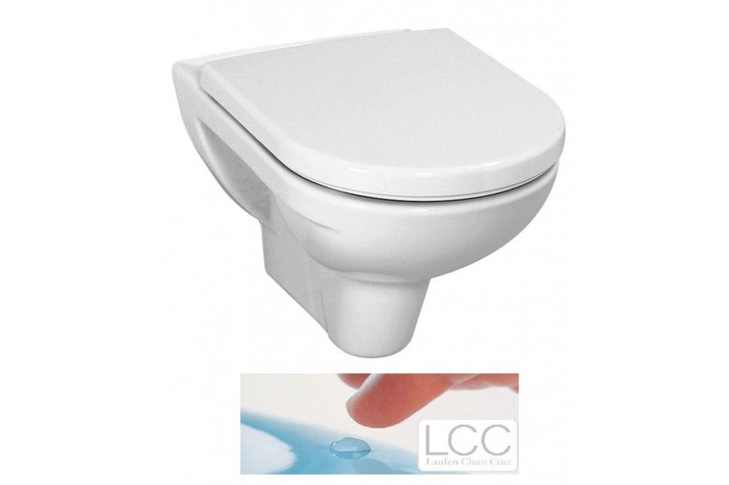 Závěsné WC Laufen Laufen Pro, zadní odpad, 56cm H8209514000001
