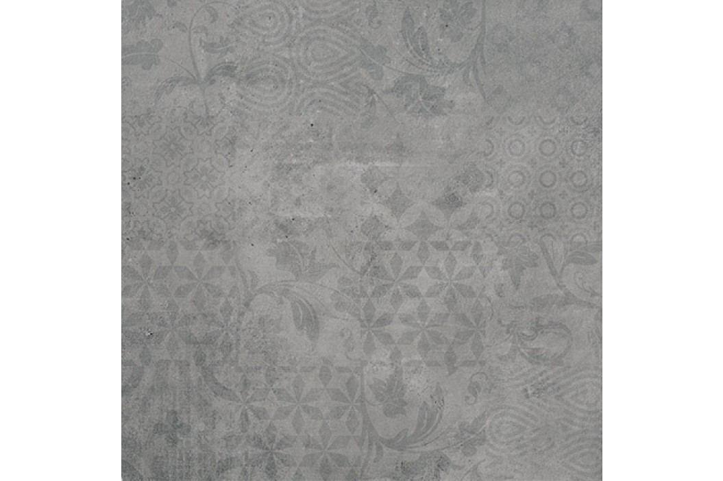 Dekor Porcelaingres Urban grey wave 60x60 cm, mat, rektifikovaná X606292X8 Obklady a dlažby