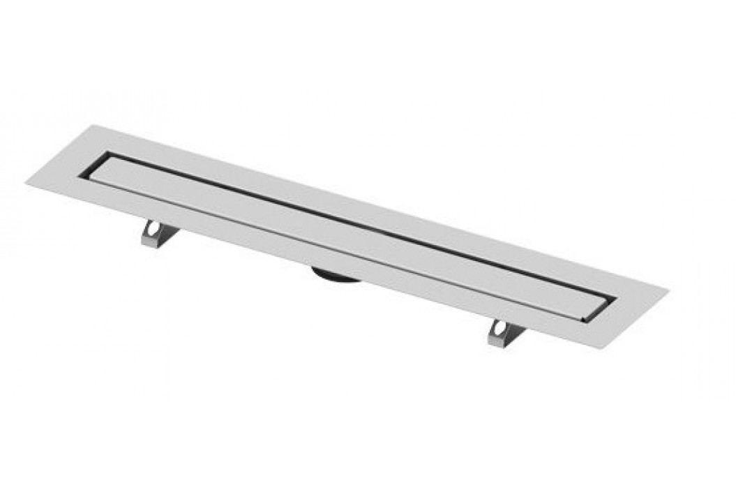 Sprchový žlab pro nalepení dlažby 100 cm Tece Drainline nerez 651000