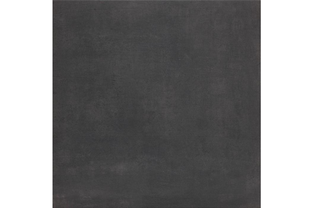 Dlažba Sintesi Flow black 60x60 cm, mat FLOW11387