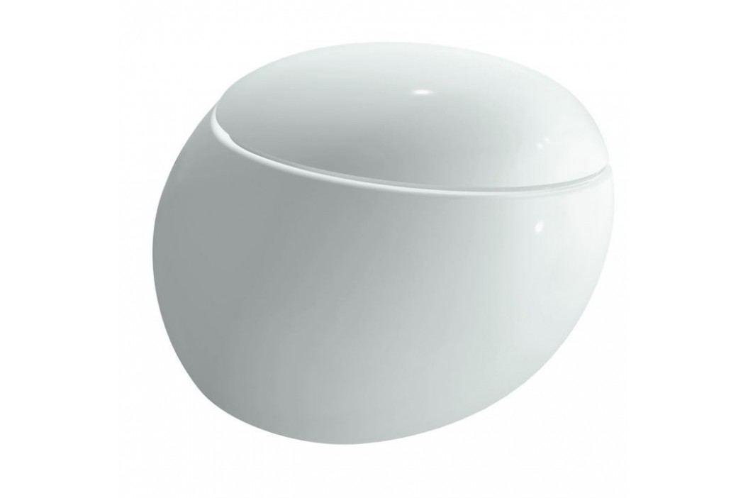 Závěsný WC Laufen Alessi, zadní odpad, 58,5cm H8209714000001