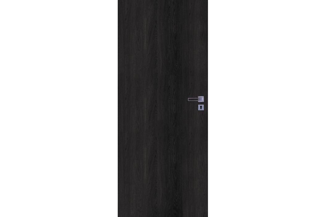 Interiérové dveře NATUREL Ibiza, 70cm, levé, jilm antracit, IBIZAJA70L