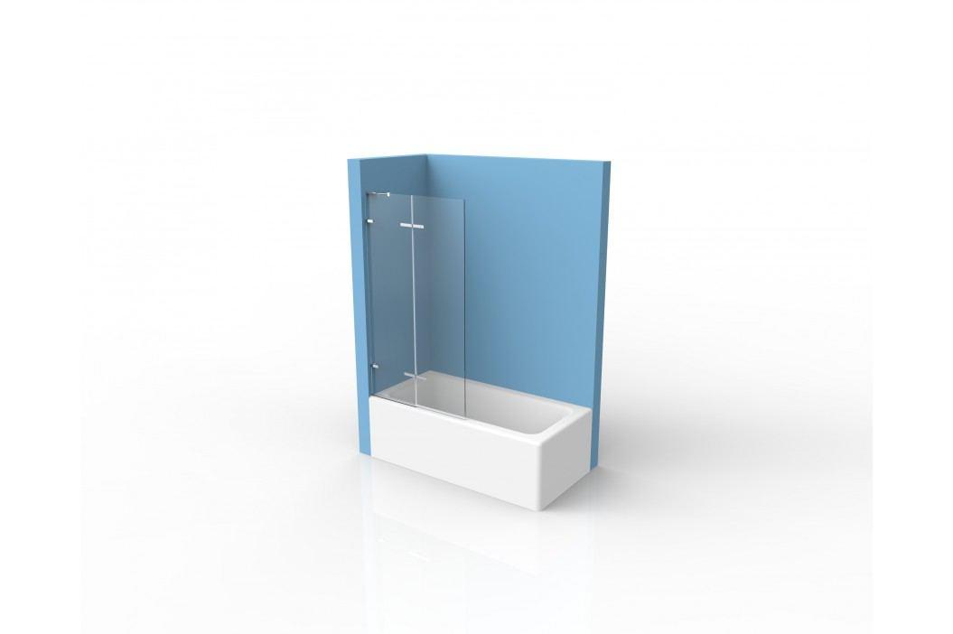 Vanová zástěna SIKO 80x150 cm univerzální, čiré sklo SIKOTGVZ150