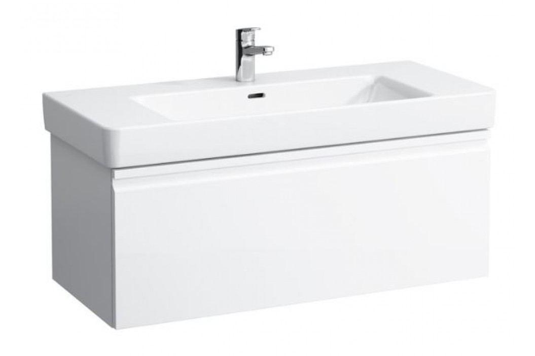 Skříňka pod umyvadlo Laufen Pro S 101 cm, bílá lesklá H4835520964751