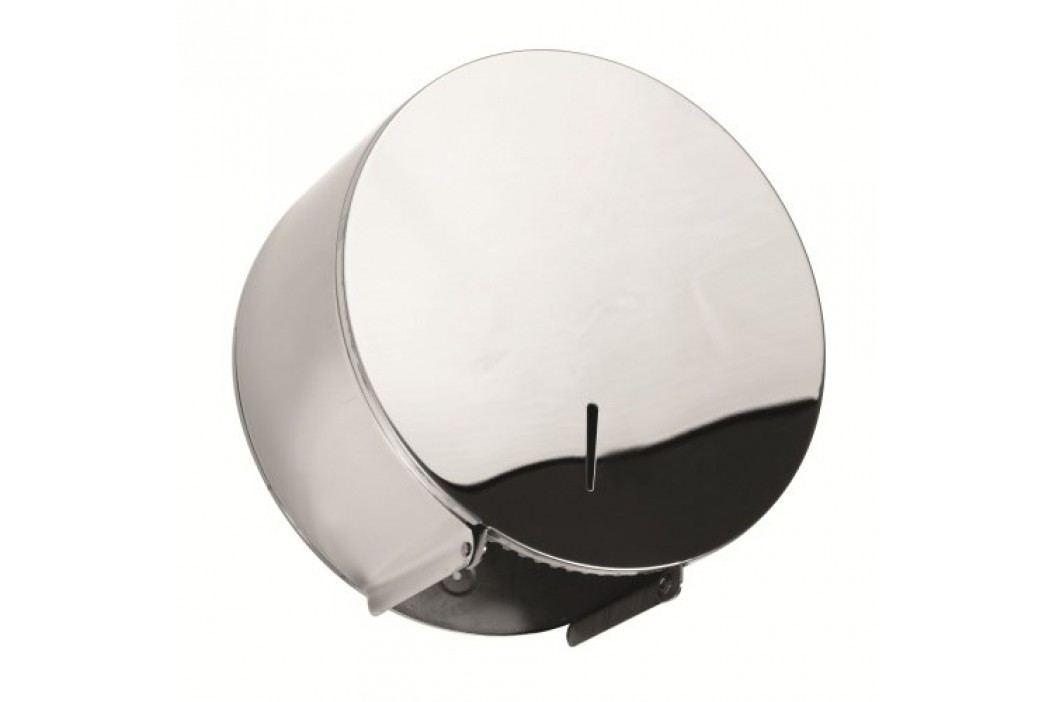 Bubnový zásobník na toaletní papír, lesk 125212051 Pro veřejné prostory