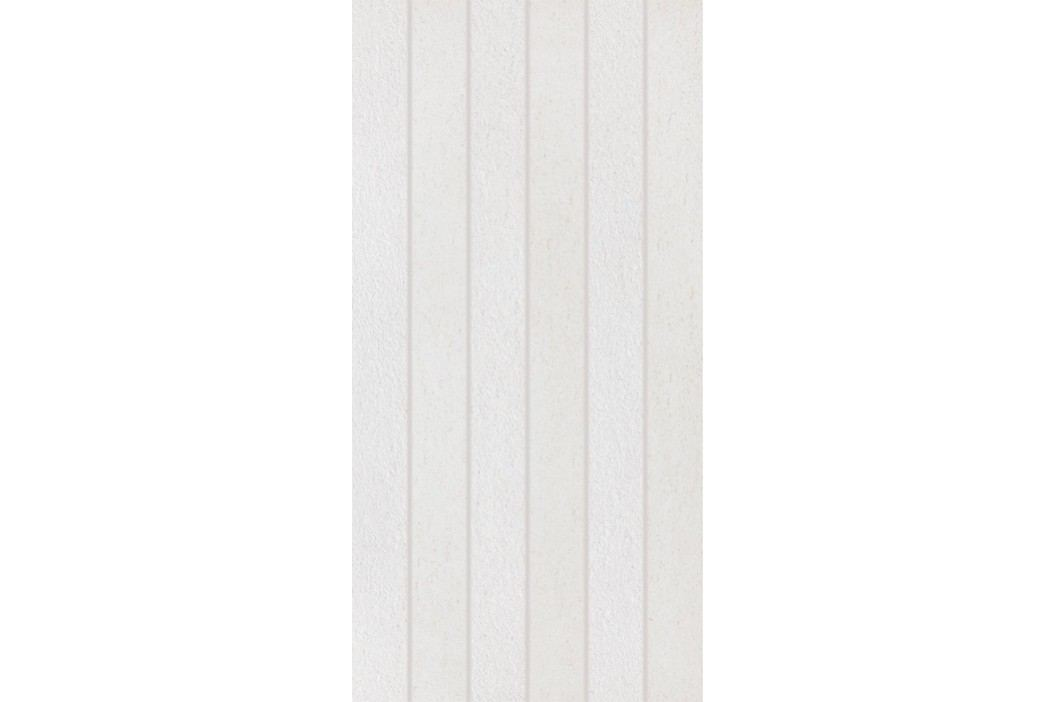 Dekor Rako Unistone bílá 30x60 cm, mat, rektifikovaná DDPSE609.1