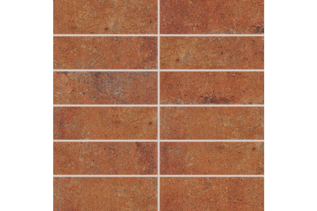 Dekor Rako Siena cihlová 45x45 cm, mat, rektifikovaná DDP44665.1 Obklady a dlažby