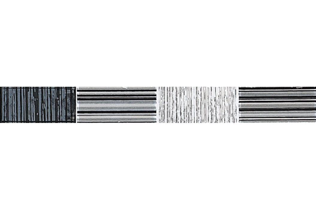 Listela Stylnul Nirvana blanco 3x25 cm, lesk LNIRVANABL