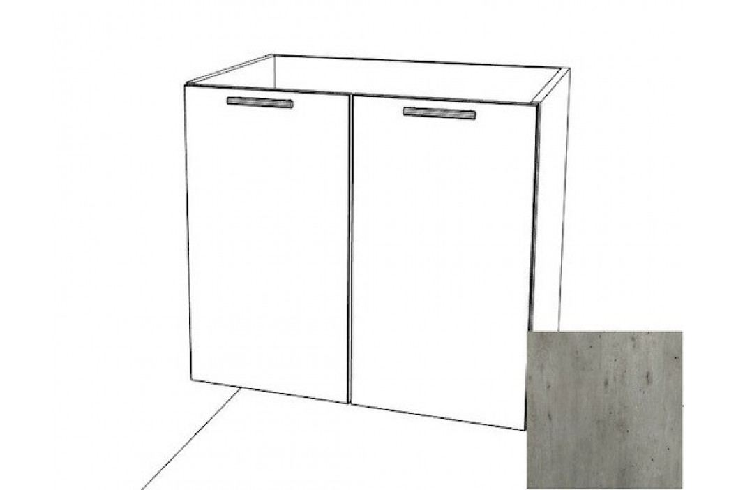 Spodní skříňka 80х82 2D beton, B8072BE
