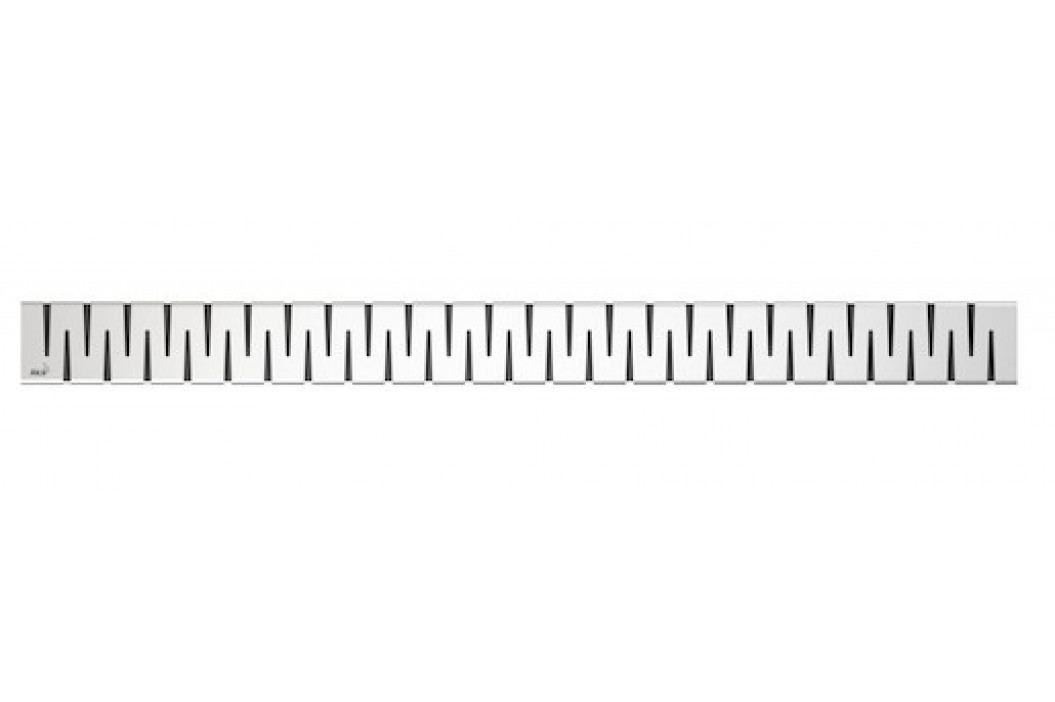 Rošt pro liniový Podlah.žlab, nerez-mat