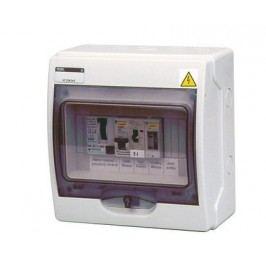 Automatické ovládání pro filtraci - F1 s pevným přívodem