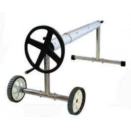 Navíjecí zařízení komplet Kokido - stojan pojízdný + teleskopická tyč 1,5-5,7m