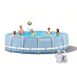 INTEX Prism Frame 4,57 x 0,84m set  + písková filtrace 3,7m3/hod