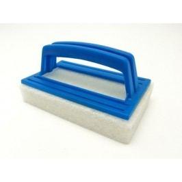 Houbička s rukojetí na čištění bazénové folie