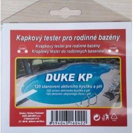 Kapkový tester DUKE KP na aktivní kyslík a pH