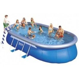 Bazén Bestway ovál 5,49 x 3,66 x 1,22m set + písková filtrace 5,5m3/hod