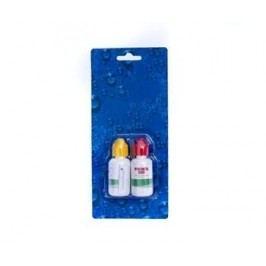 Náhradní kapky do testeru na pH a Cl