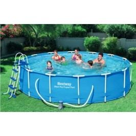 Bazén Bestway s konstrukcí 4,57 x 1,22 m písková filtrace 4,5m3/hod