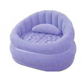 Nafukovací křeslo Intex Loungen Cafe Chair fialové