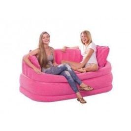 Nafukovací pohovka Intex Loungen Cafe Love Seat růžová