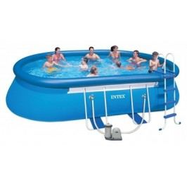 INTEX OVAL FRAME POOL 6,10 x 3,66 x 1,22 m 26194NP