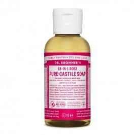 Dr. Bronner's Tekuté universální mýdlo ALL-ONE!, Rose 60 ml