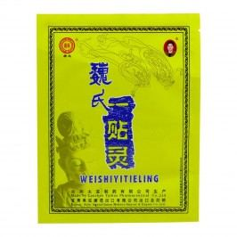 Bylinná náplast na bolesti Wei Shi Yi Tie Ling, čínská 1 ks