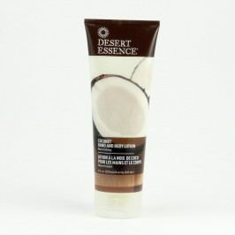 Desert Essence Tělové mléko a mléko na ruce kokos 237 ml