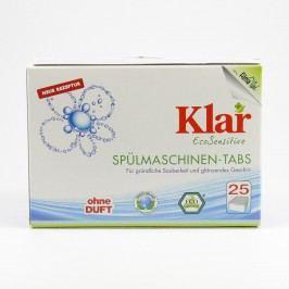 Klar Tablety do myčky 25 ks, 500 g