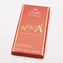 Dolfin Čokoláda hořká s nugátem 30 g