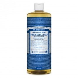 Dr. Bronner's Tekuté universální mýdlo ALL-ONE!, Peppermint 946 ml