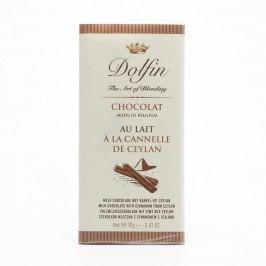 Dolfin Čokoláda mléčná se skořicí ze Srí Lanky 70 g