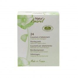 Natur Amarel Prsní vložky pro kojicí ženy, nursing cotton pads 24 ks