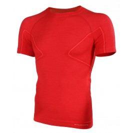 Brubeck krátký rukáv Active Wool Red