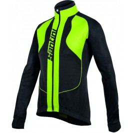 Santini bunda Rebel Winter Jacket black/neo yellow / XL