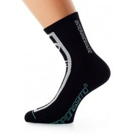 Assos Intermediate Socks_S7 Black Volkanga I