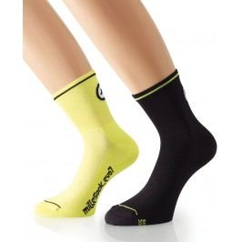 Assos mille Sock_evo7/2pcs Volt Yellow 0